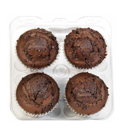 Kroger Bakery Fresh Double Chocolate Chip Muffin