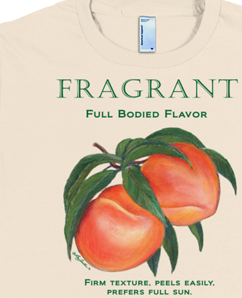 FRAGRANT Peaches T-shirt Featured