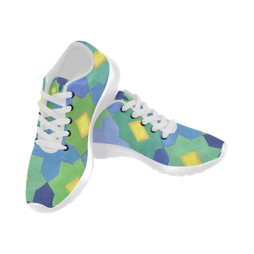 Tile Star and Cross Sneakers - Liz Lauter Designs