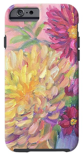 Pink Dahlias - Phone Case - Liz Lauter Designs