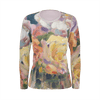 ANTIQUE ROSES LONG SLEEVE WOMEN'S SHIRT - Liz Lauter Designs