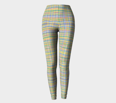 WATERCOLOR PLAID leggings - Liz Lauter Designs