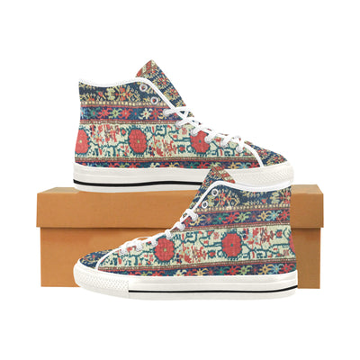 ORIENTAL CARPET High Top Sneakers - Liz Lauter Designs