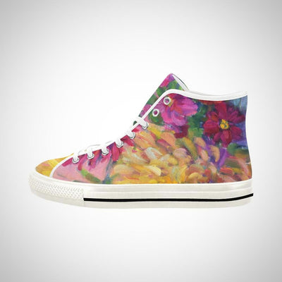 PINK DAHLIAS High Top - Liz Lauter Designs