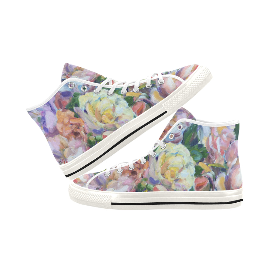ANTIQUE ROSES HIGH TOP SNEAKER - Liz Lauter Designs