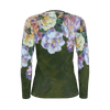 ROSE GARLAND long sleeve women's shirt - Liz Lauter Designs