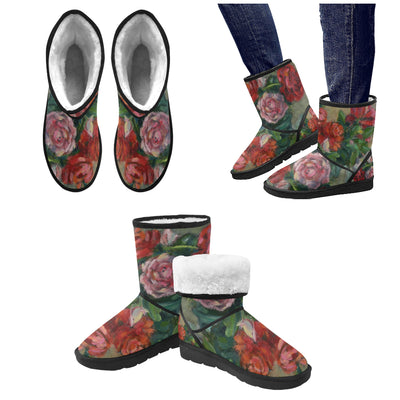 Naomi's Roses Snow Boots for Women - Liz Lauter Designs