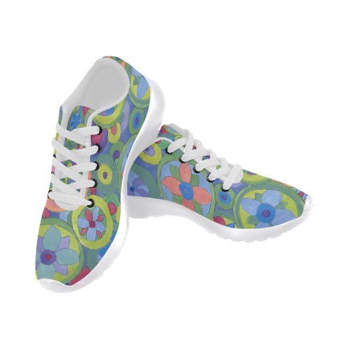 Color Wheels Sneakers - Liz Lauter Designs