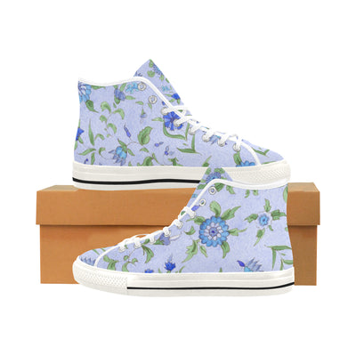 TURKISH TILE FLORAL High Top Women's Sneakers - Liz Lauter Designs