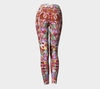 GINGERBREAD WONDERLAND YOGA PANTS - Liz Lauter Designs