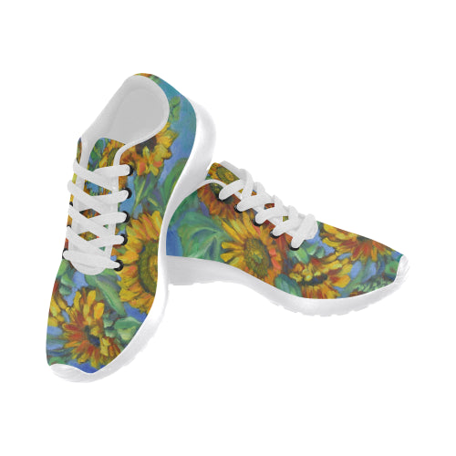 Sunflowers Sneakers - Liz Lauter Designs