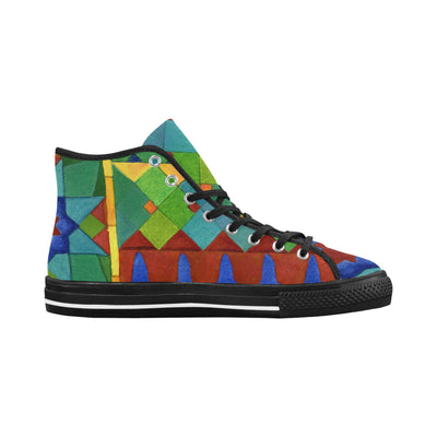 BRIGHT TILES HighTops Women's Sneakers - Liz Lauter Designs