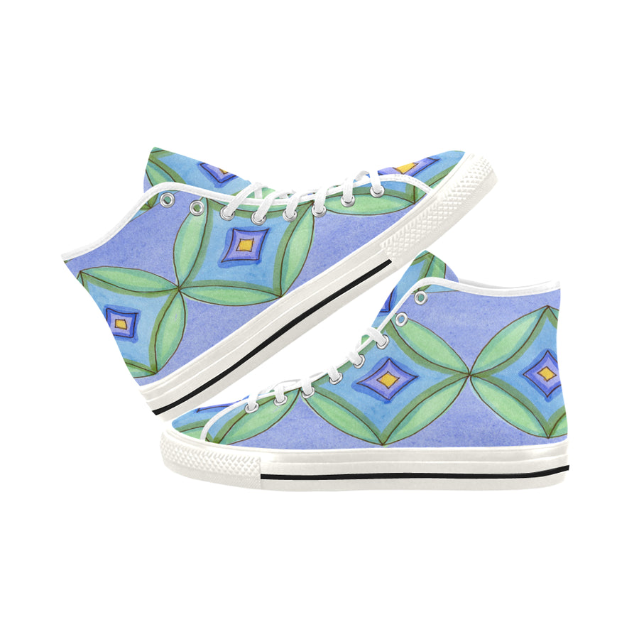 TILE RUG HIGH TOP SNEAKERS - Liz Lauter Designs