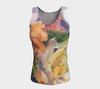 Antique Roses Tank fitted - Liz Lauter Designs