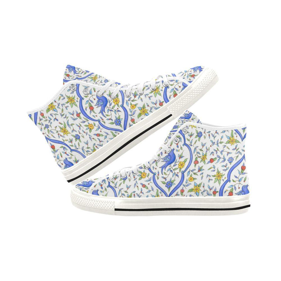 BLUE BIRD High Top Sneaker - Liz Lauter Designs