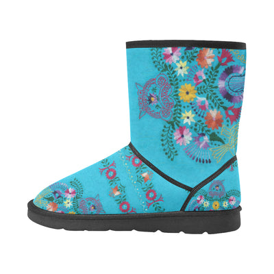 TURQUOISE EMBROIDERY Snow Boot - Liz Lauter Designs