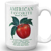 Apple AMERICAN FAVORITE Mug - Liz Lauter Designs