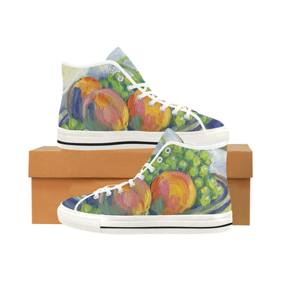 GRAPES AND PEACHES STILL LIFE Life High Top - Liz Lauter Designs