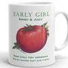Tomato EARLY GIRL Mug - Liz Lauter Designs