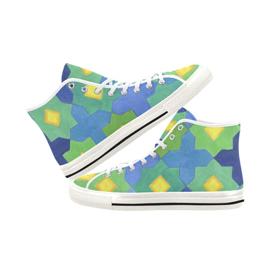 STARS AND CROSSES High Top Sneakers - Liz Lauter Designs