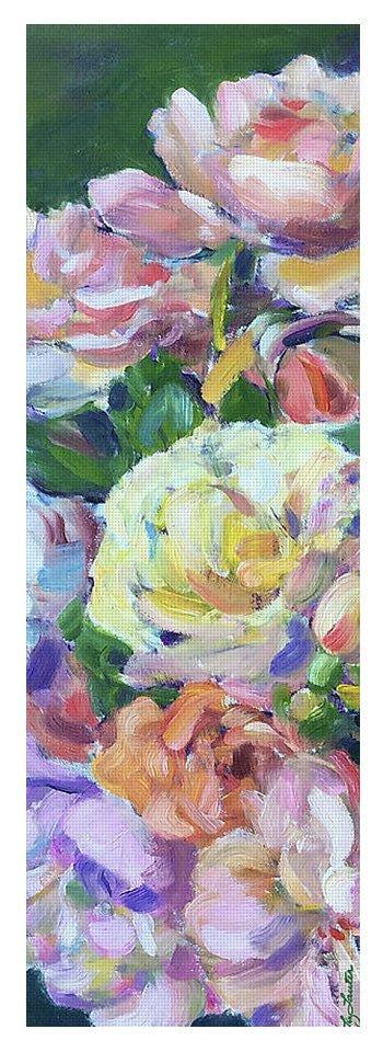 Antique Roses - Yoga Mat - Liz Lauter Designs