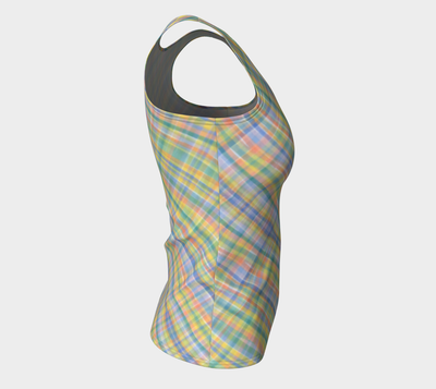 WATERCOLOR PLAID TANK - Liz Lauter Designs