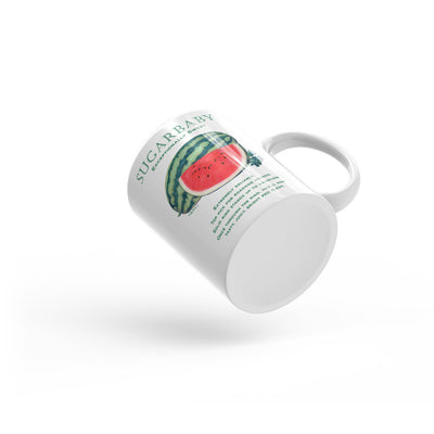 Watermelon SUGARBABY Mug - Liz Lauter Designs