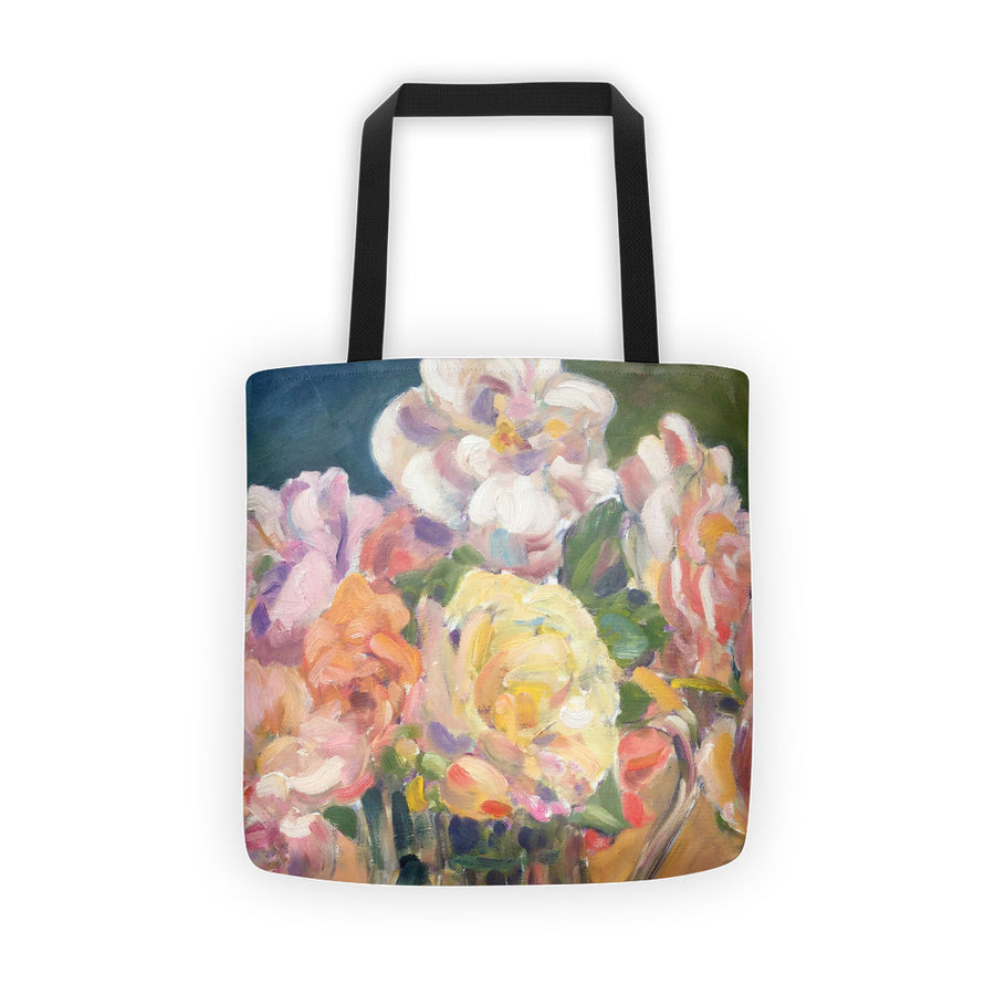 Antique Roses Tote bag - Liz Lauter Designs