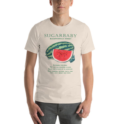 FUNNY GARDEN T SHIRT SUGARBABY Watermelon Short-Sleeve Unisex T-Shirt