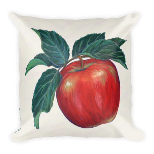 Apple Pillow - Liz Lauter Designs