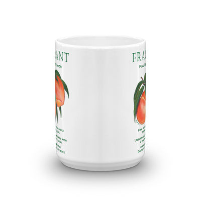 Peaches FRAGRANT Mug - Liz Lauter Designs