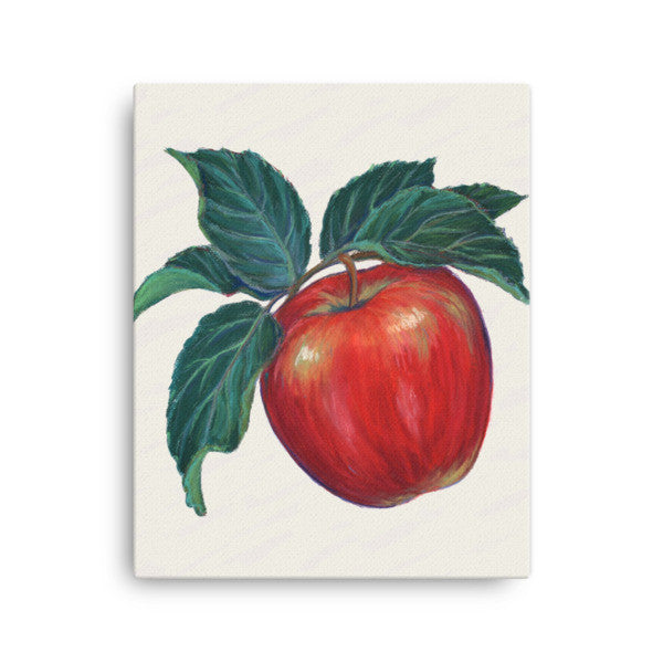 Apple Chalk Painting - Liz Lauter Designs