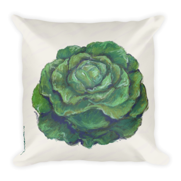 Lettuce Pillow - Liz Lauter Designs