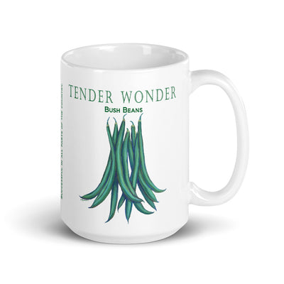 Tender Wonder Bush Beans Coffee Mug