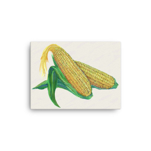Corn Chalk Painting - Liz Lauter Designs