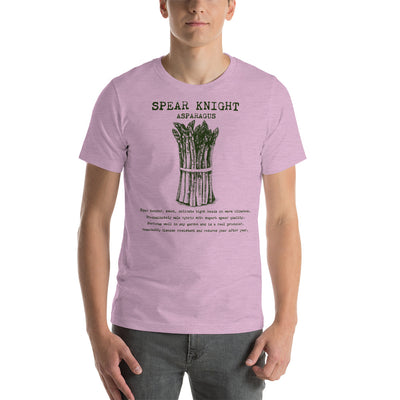SPEAR KNIGHT Asparagus Short-Sleeve Unisex T-Shirt.