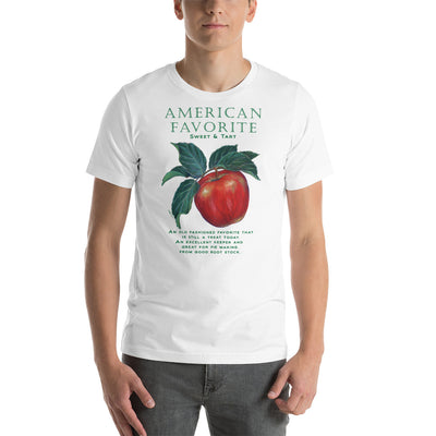 FUNNY GARDEN T SHIRT APPLE UNISEX