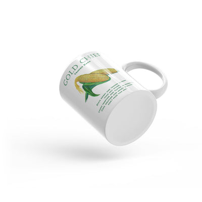 Corn GOLD CHIEF Mug - Liz Lauter Designs