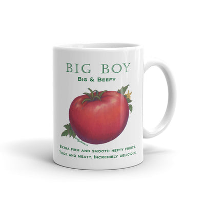 Tomato BIG BOY Mug - Liz Lauter Designs