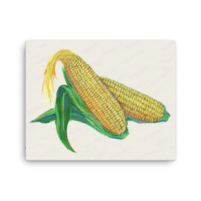 Ears of Corn Chalk Painting - Liz Lauter Designs