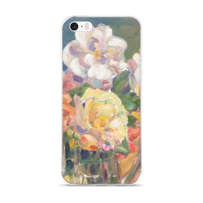 Antique Roses iPhone 5/5s/Se, 6/6s, 6/6s Plus Case - Liz Lauter Designs