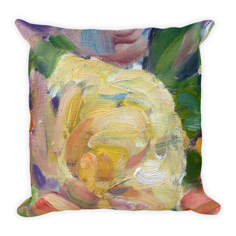 Antique Roses 2 Pillow - Liz Lauter Designs