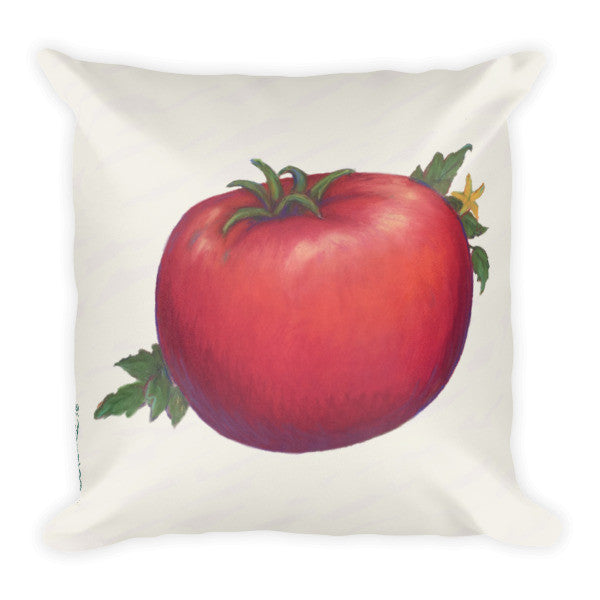 Tomato Pillow - Liz Lauter Designs