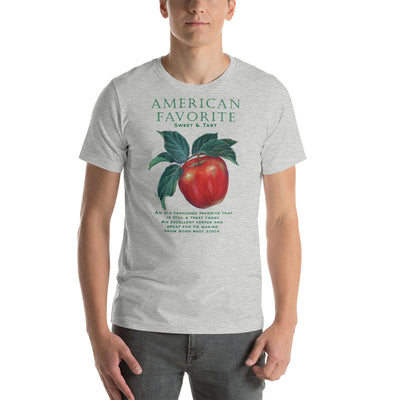 FUNNY GARDEN T SHIRT AMERICAN FAVORITE Apple Short-Sleeve Unisex T-Shirt