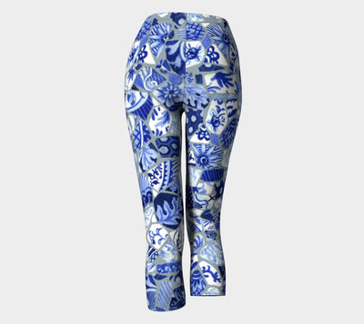 Mosaic Capri Leggings - Liz Lauter Designs