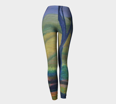 FIELD IN ISRAEL LEGGINGS - Liz Lauter Designs