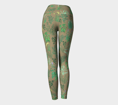HERB GARDEN Yoga Pants - Liz Lauter Designs