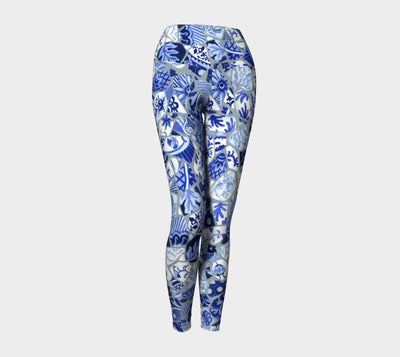 Mosaic Yoga Pants - Liz Lauter Designs
