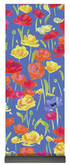 Ranunculas On Blue - Yoga Mat - Liz Lauter Designs