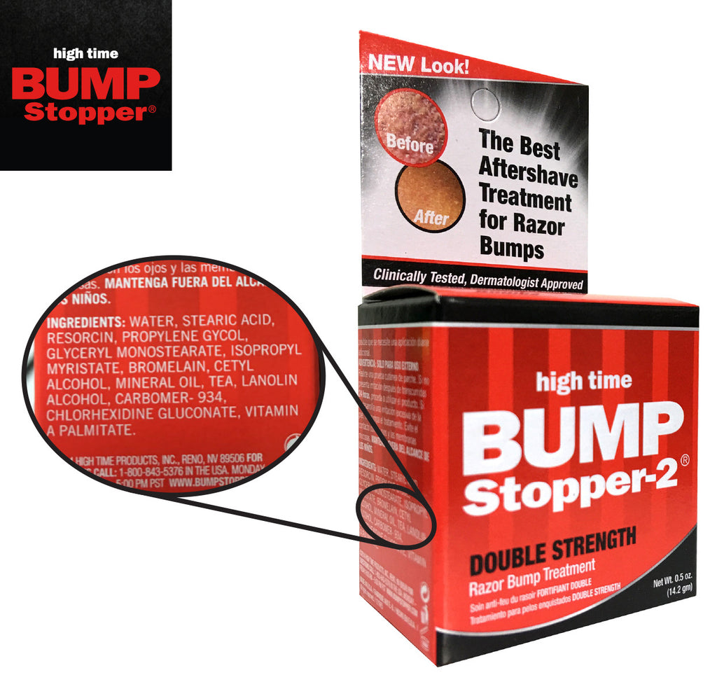 What's in it? What's it good for? Bump Stopper-2 - List of Ingredients